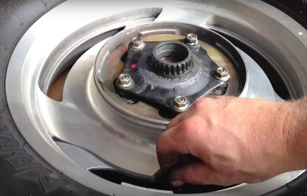 Change Motorcycle Tire