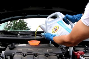 Change Motorcycle Oil
